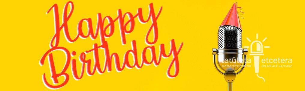 Happy Birthday, Radio Samariterbund!